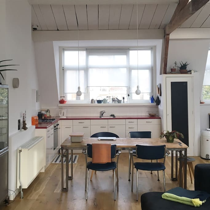 Beautiful light spacious loft near city center for Loft interieur den haag