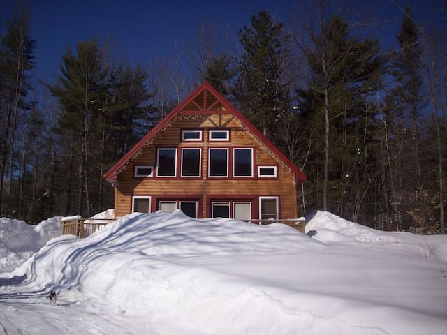 Mount Abram Cabin and 15 minutes to Sunday River - Greenwood - Huis
