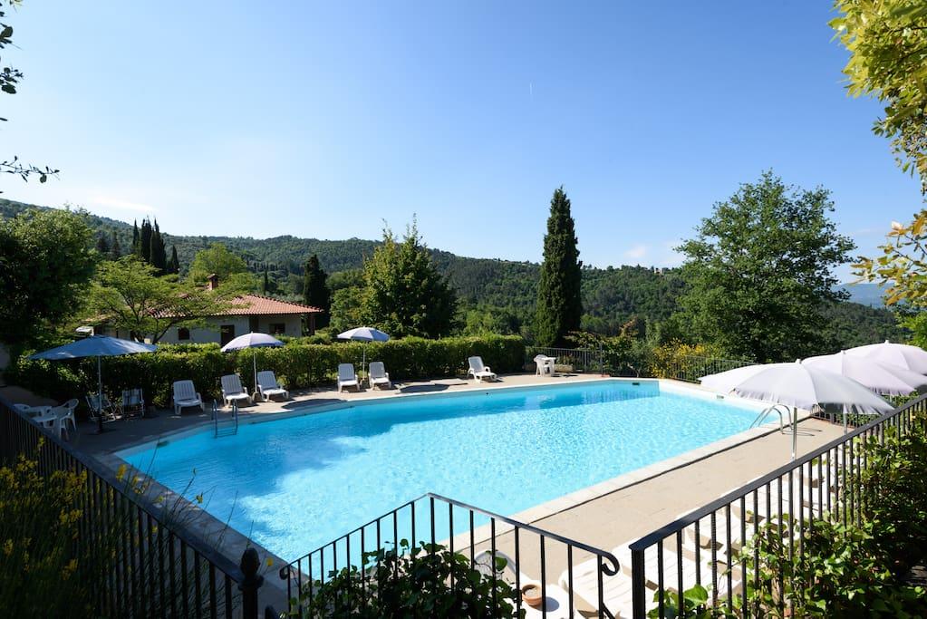 L 39 aida casa lama 2 camere 3 4 p grande piscina a - Piscina di brembate sopra ...