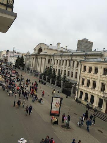 КВАРТИРА НА ПЕШЕХОДНОЙ ул. БАУМАНА - Казань