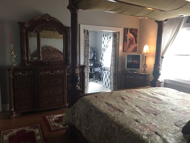 Master suite in a  private home for fun weekends!