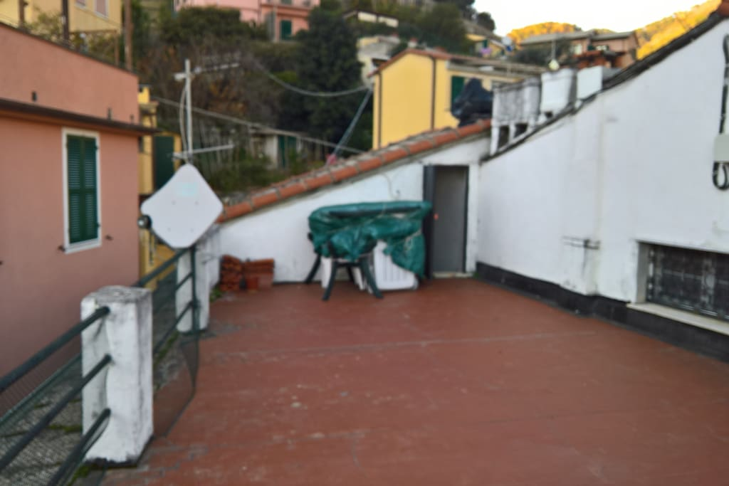 40 square meters terrace