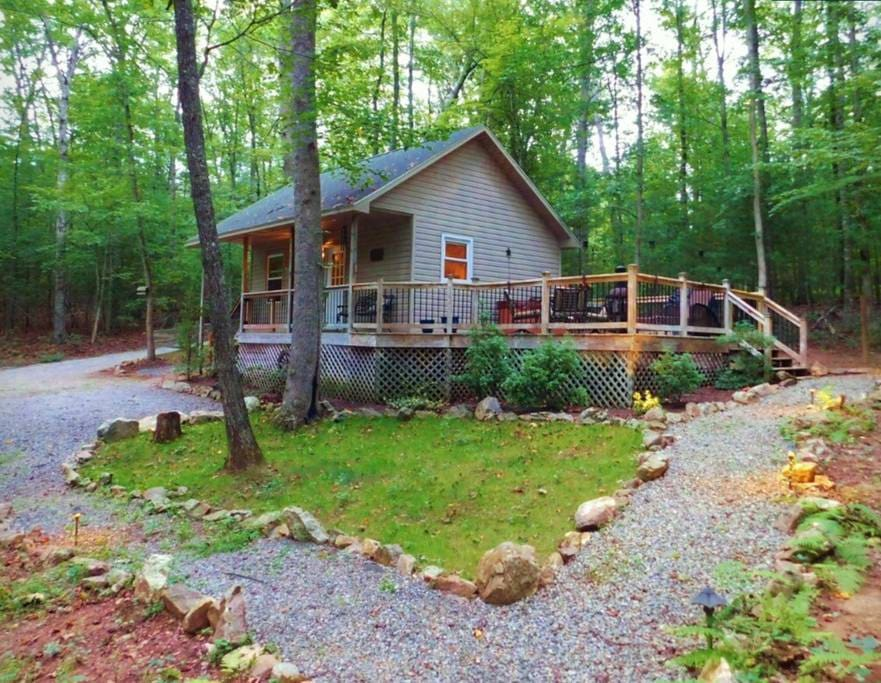 Cabin In The Woods Cabins For Rent In Piney Creek North