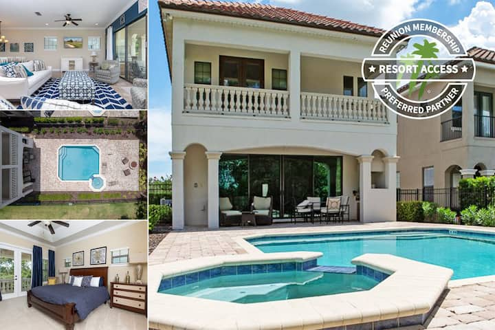 Fairway Joy   5 Bedroom Pool Home and Conservation Views   399