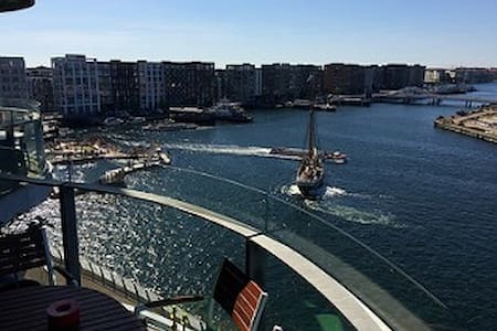 SeasidePenthouse 5 * in Copenhagen. Stunning view