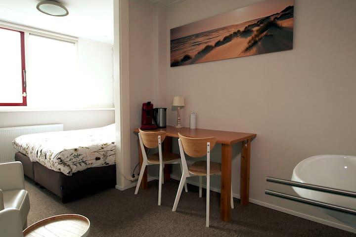Fijne kamer voor 2 personen op Texel