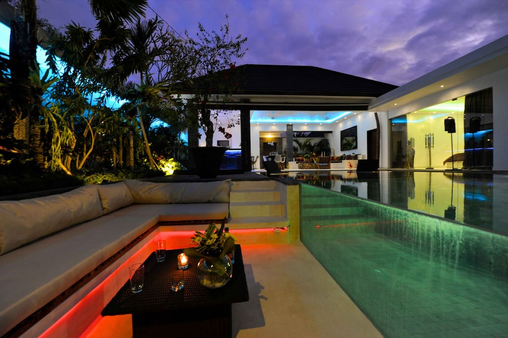 Villa Cantik sun lounge