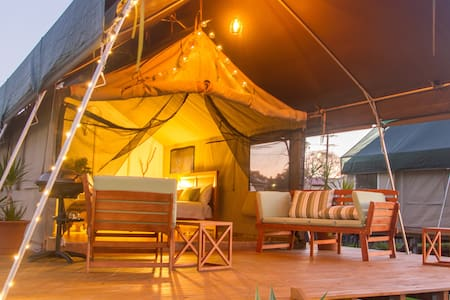 South Coast Retreat Luxury Safari Tent Glamping - Greenwell Point - Tienda de campaña