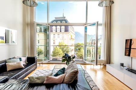 Montreux:Stunning 2 Bedroom Apartment, Lake Geneva