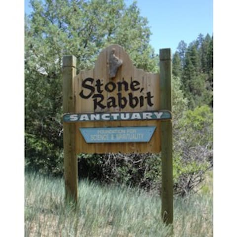 Our sign That can be seen from Co.RD. 551