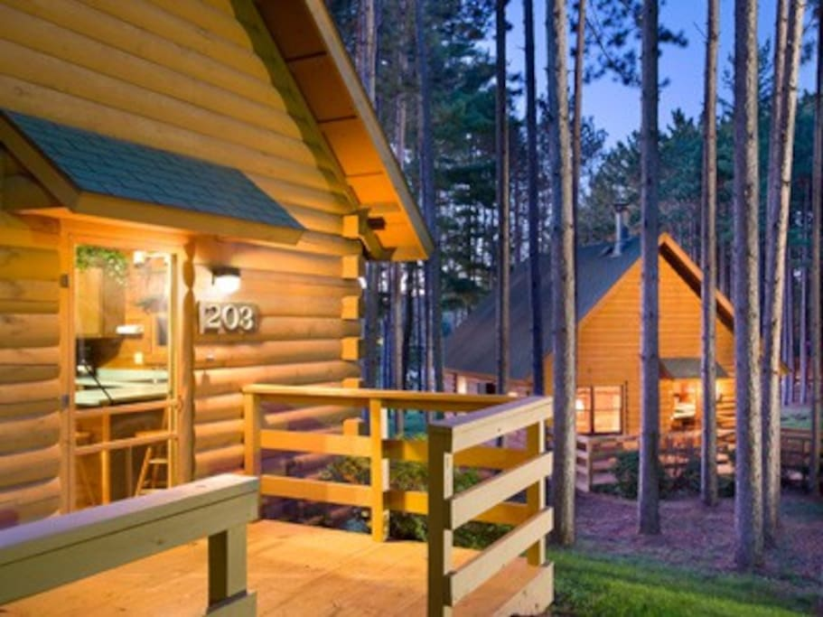 Cozy 2 Bedroom Cabin With Fireplace Cabins For Rent In