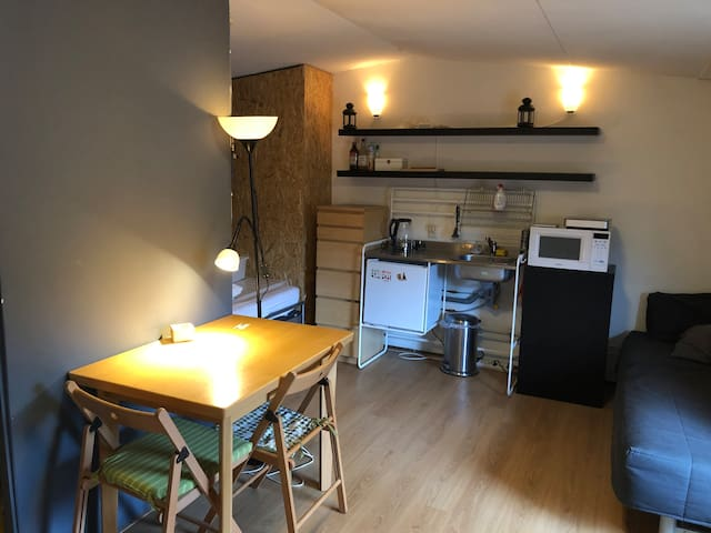 Attic room near city centre