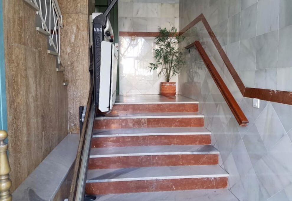 Hallway, possible to use for special needs.