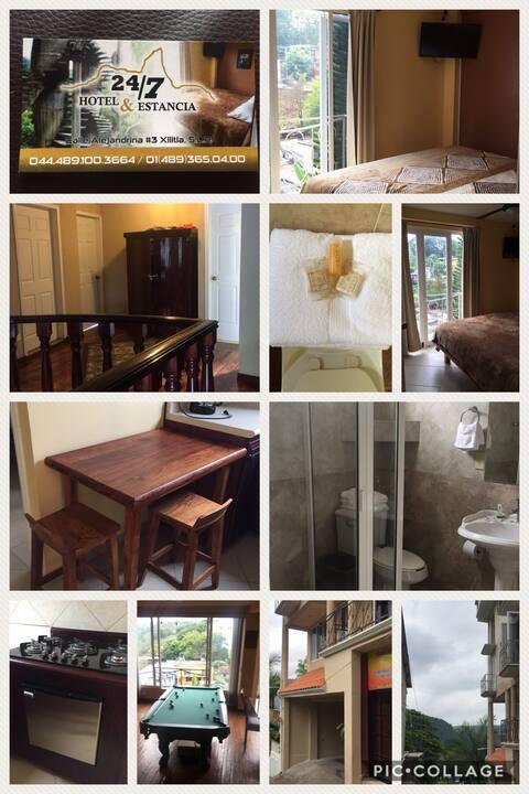 Estancia 24/7 Room 1 Habitación privada