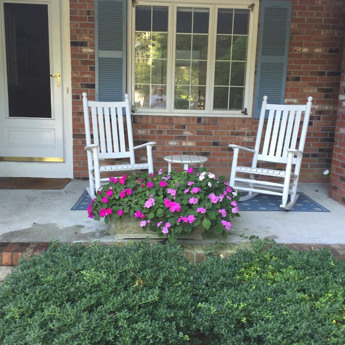 Rockers on the front porch