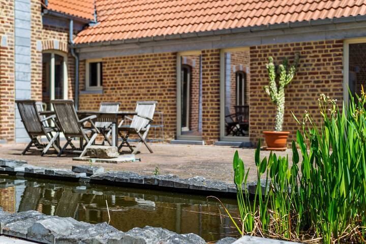 Graceful Holiday Home in Geetbets with Patio