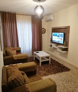 nice and safe apartment to Visit Madaba with AC