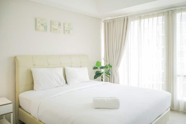 Clean and Homey Studio Bintaro Plaza Apartment