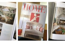 Featured in Home & Living Indonesia Magazine