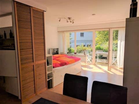 Sonnige Wohnung mit großem Südbalkon