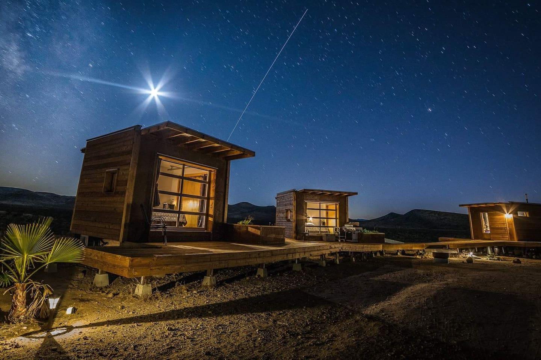 Night photo, credit Chet Steele