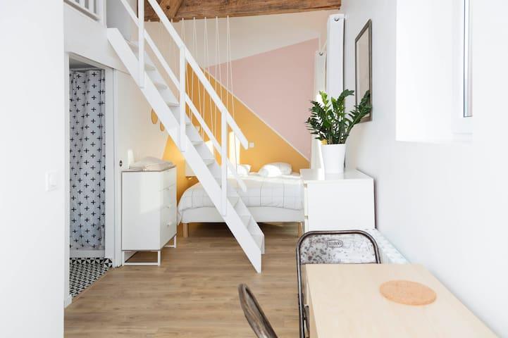 Casa Goldie•Ciboure•Loft Sun familial, garden