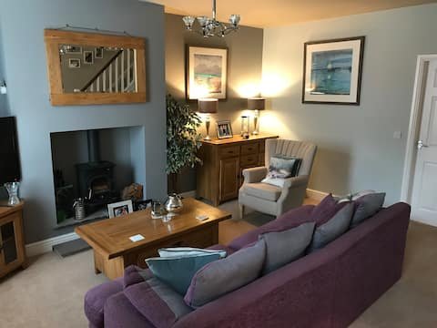 Cosy house set in historic town of Clitheroe