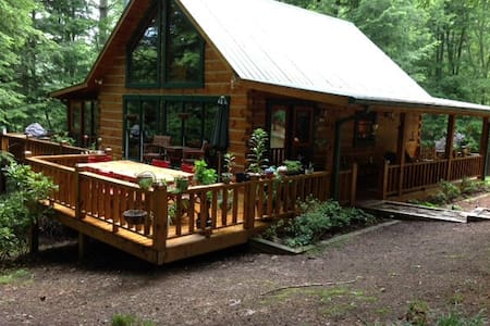 Very Clean Cabin With Big Green Egg - Kulübe