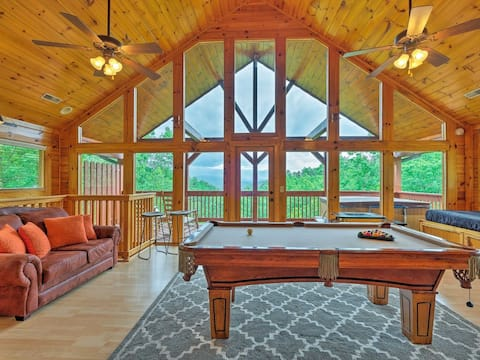 Awesome Private Mountain Views! HotTub&Resort pool