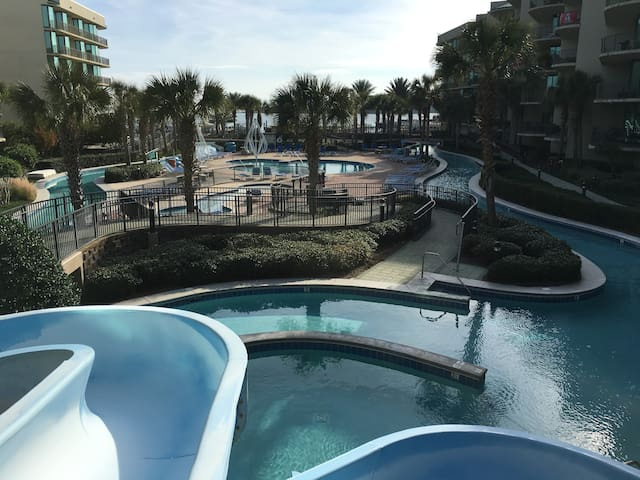 Free Boat Slip, Lazy River, Water Slide! - Orange Beach - Apartament