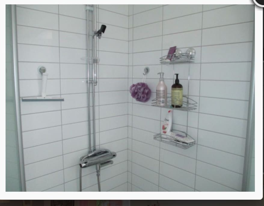 The shower!!
