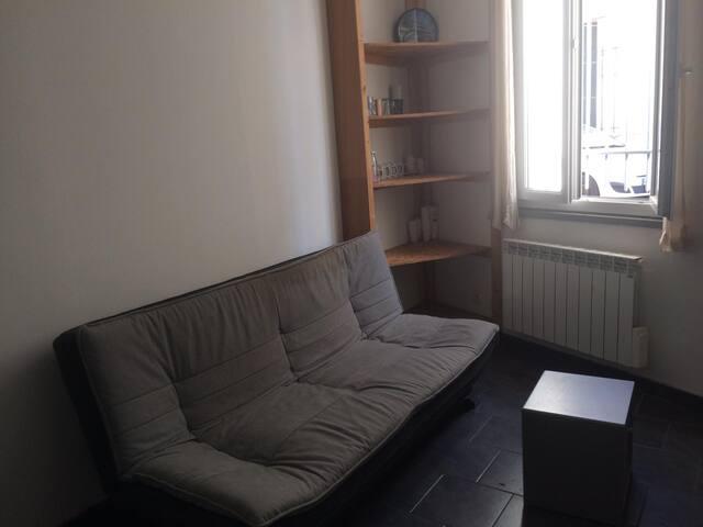 Appartement agréable avec cour intérieure