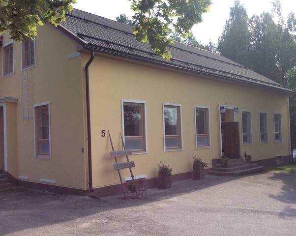 Villa Viertola; aamiainen ja vintage sauna