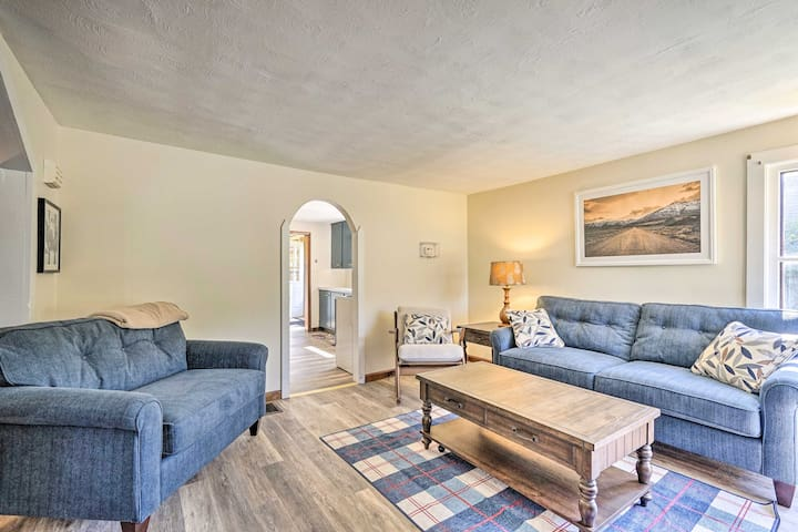 Letchworth State Park is just 14 miles away from this home-away-from-home.