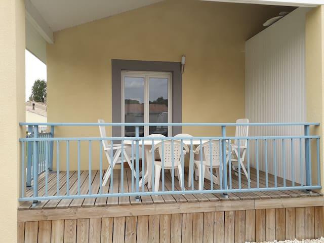 Maison de vacance au calme.