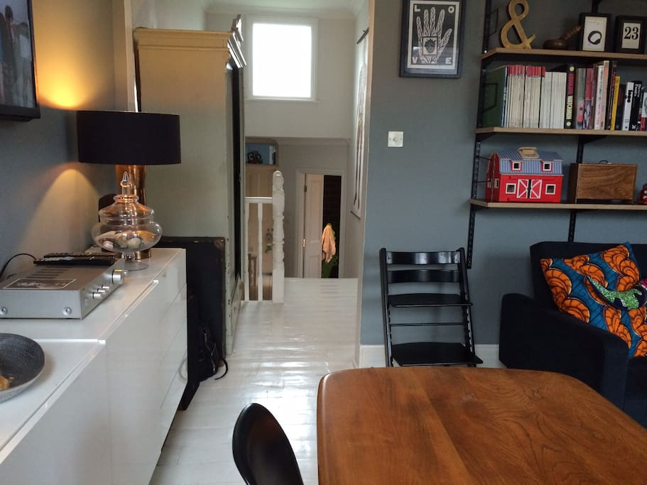 Living room corridor