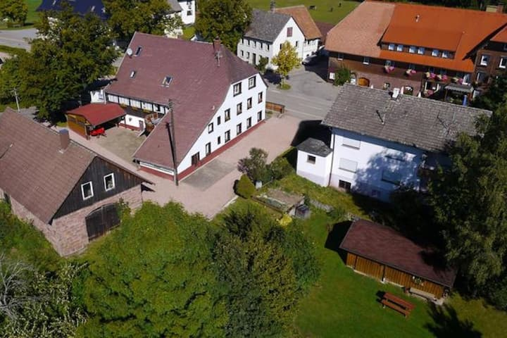Cosy apartment with a great panoramic view in Lauterbach in the Black Forest