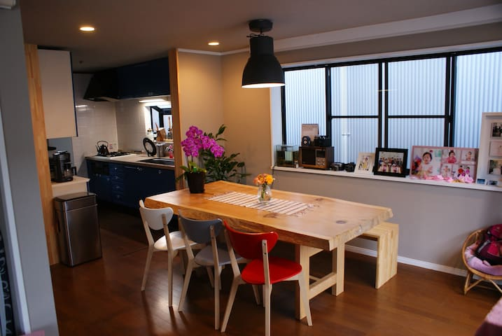 Homey Cozy room/FreeWifi/near Shinjuku & Ghibli 2 - Suginami - บ้าน