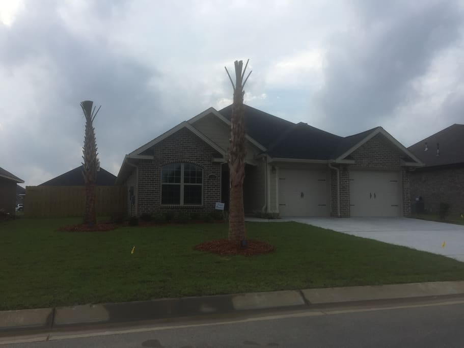 Private home in new gated subdivision
