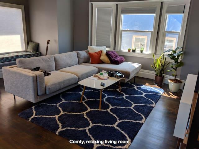 Gorgous, spacious, sunny room @ Linden House!