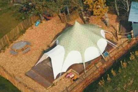 Sandvilla belle-tent glamping