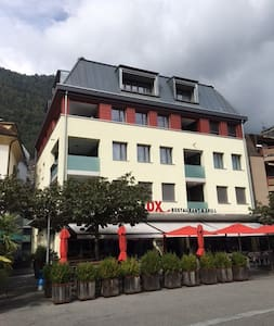 In the heart of Interlaken