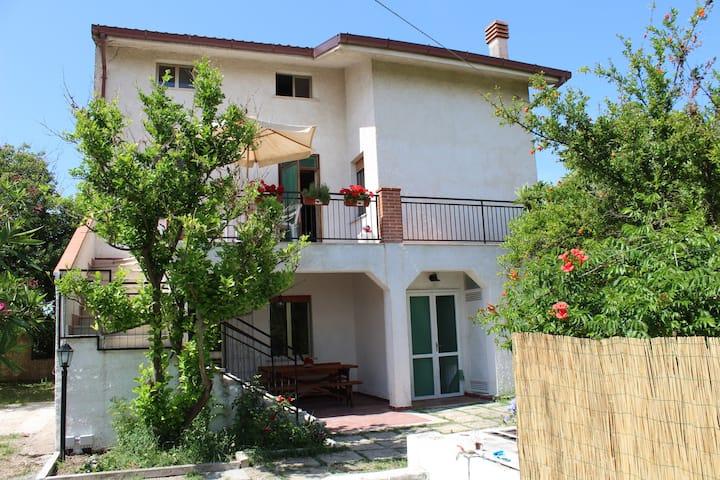 Villa Falkenburg tra mare e Majella