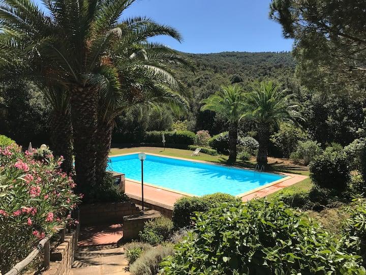 Grazioso bilocale con piscina, un angolo da sogno