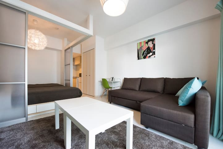 NEW 1LDK/All In One/Close to Subway - Oszaka - Lakás