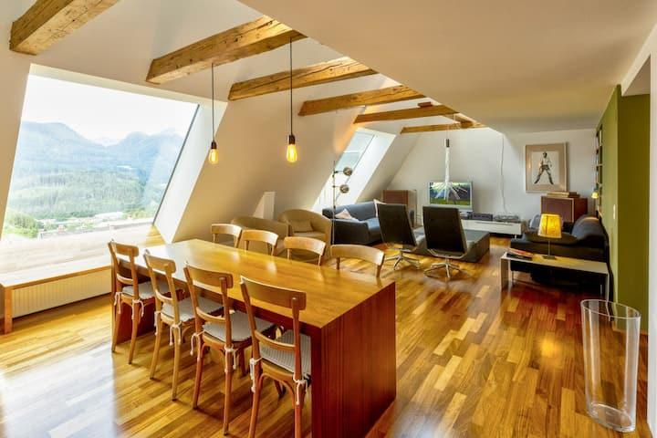 Über den Dächern von Mariazell