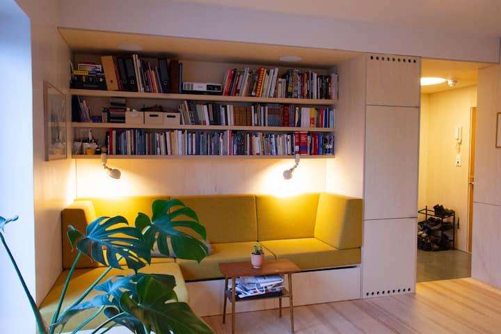 Maria og Remis elegante Oslo-leilighet
