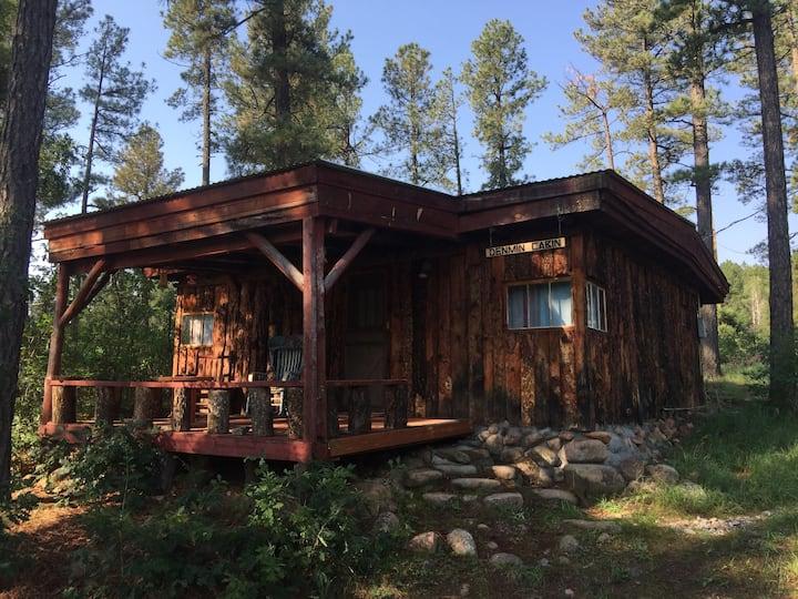 Denmin Cabin - El Rito Cabins - Hermit's Peak