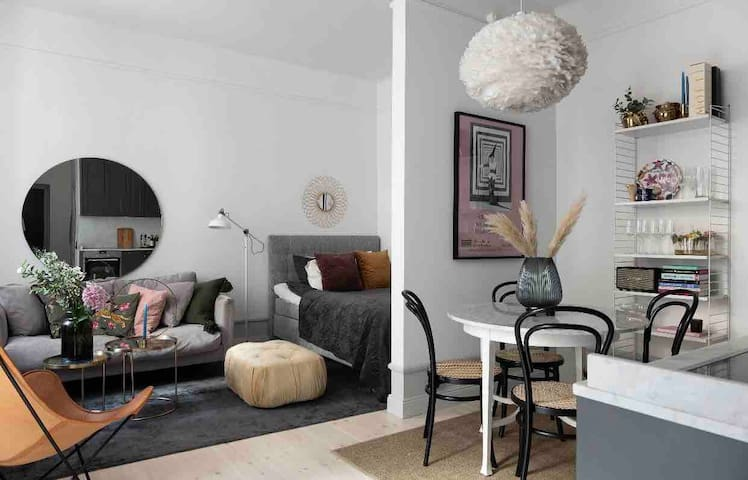 Luxury studio in the heart of Stockholm