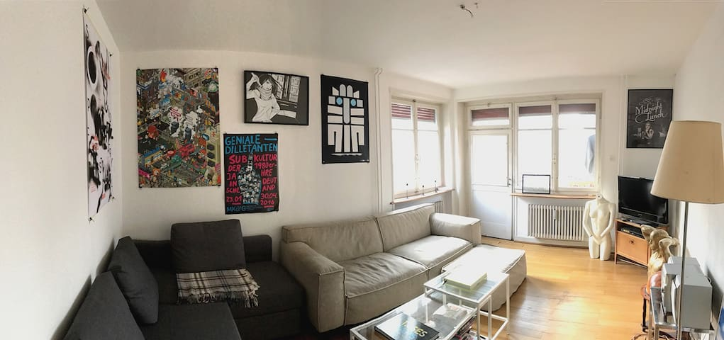 Hip place to stay - 3 room apartment - Basel - Apartament